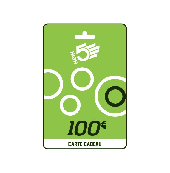 Carte cadeau HIGH5® 100€